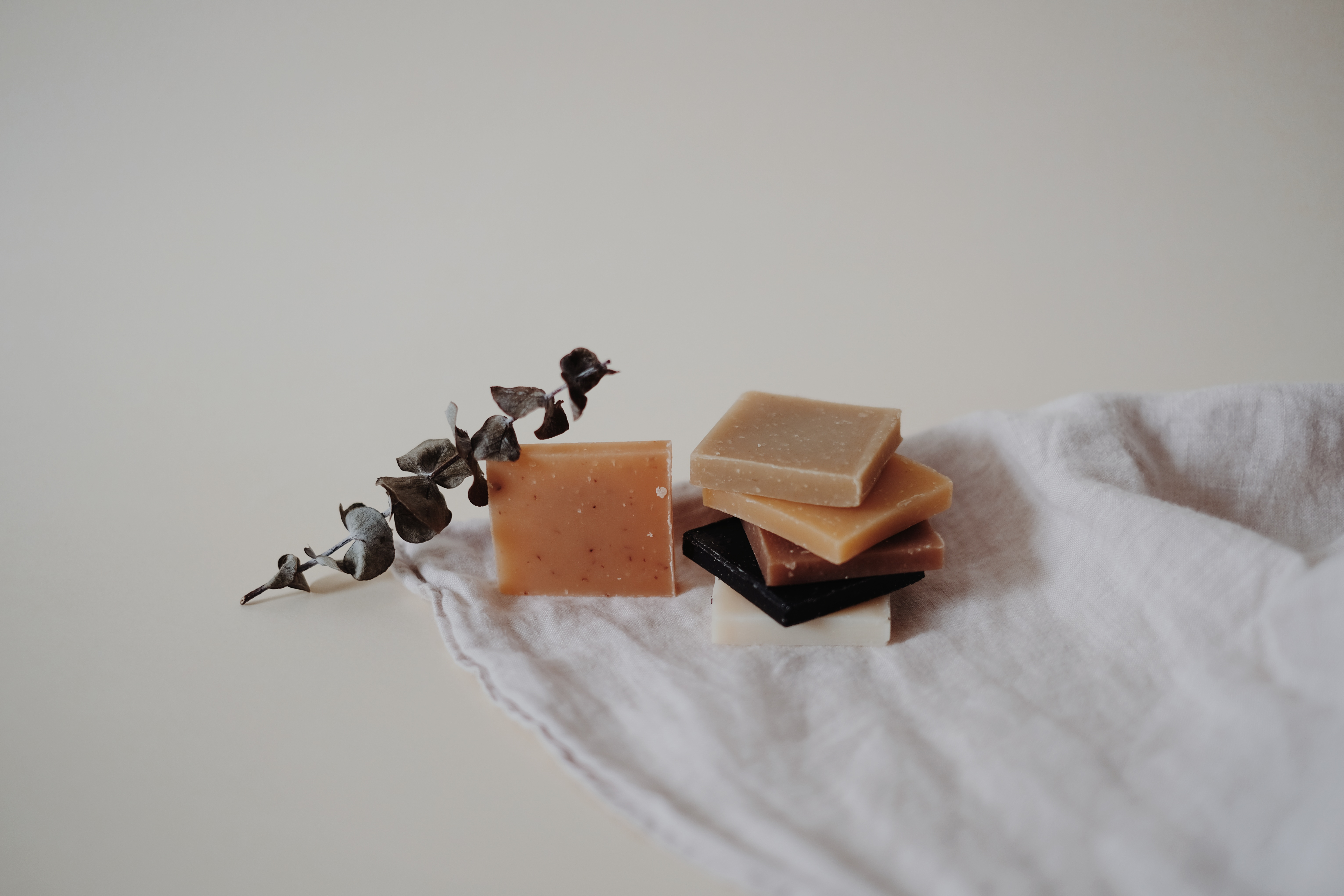 Canva - Soap or shampoo bars